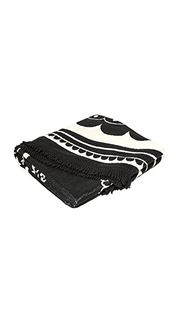Soleil Venice Beach Woven Round Towel