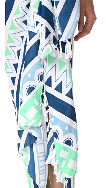 Soleil Seagate Stripe Pareo