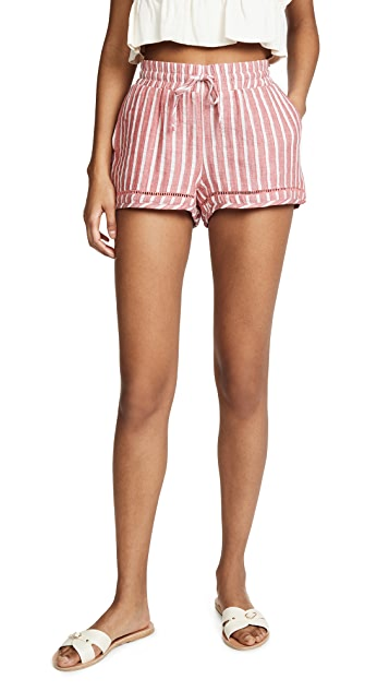 Soleil Striped Shorts