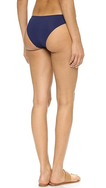 Solid & Striped Poppy Delevingne Tie Bikini Bottoms