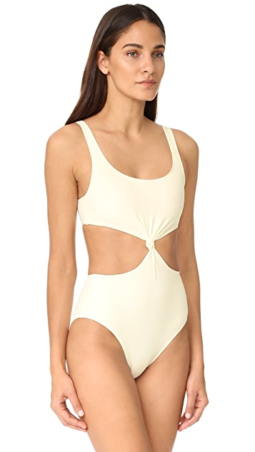Solid & Striped The Bella Knot Front One Piece