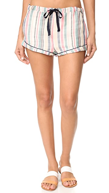 Solid & Striped The Tracy Piped Shorts