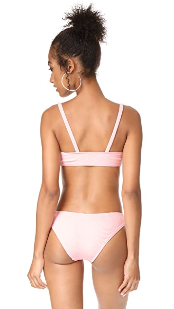 Solid & Striped x STAUD Alice Bikini Top