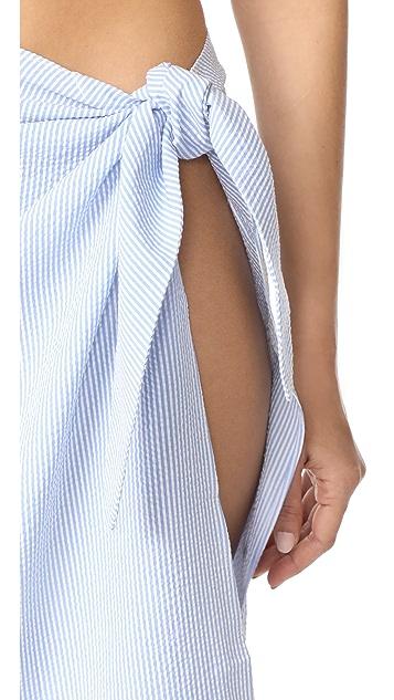 Solid & Striped x STAUD Capiz Skirt