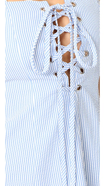 Solid & Striped STAUD Catalina Dress