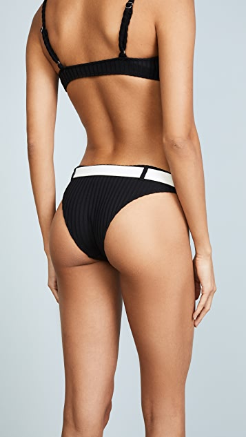 Solid & Striped The Rachel Rib Bikini Bottoms