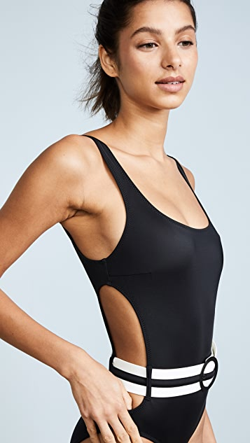 Solid & Striped The Joan Black One Piece