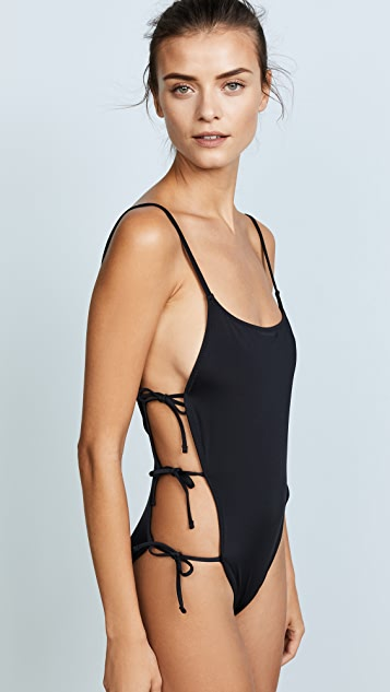 Solid & Striped Swim Team Lily One Piece