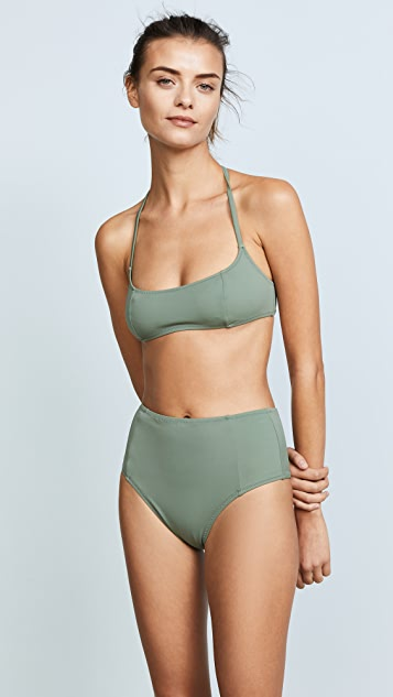 Solid & Striped Swim Team Jessica Bikini Top