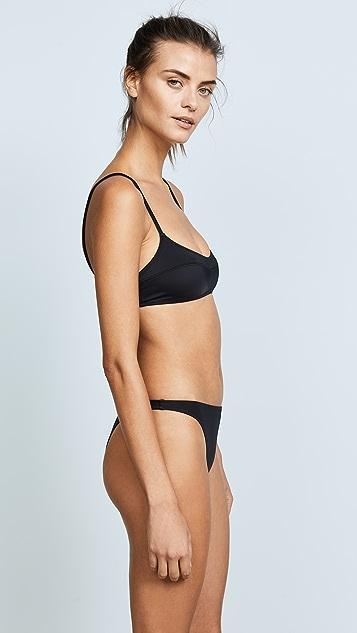 Solid & Striped Swim Team Elsa Bikini Top