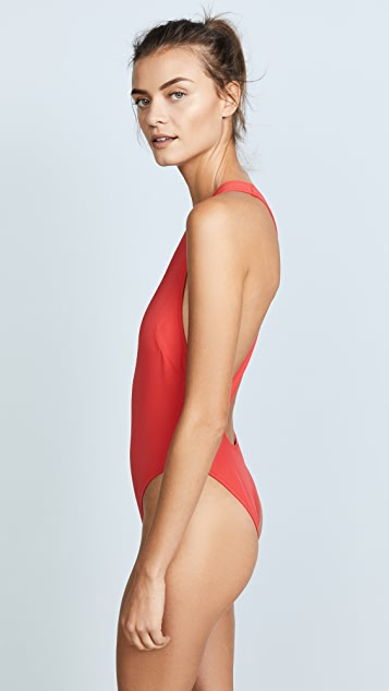Solid & Striped Swim Team Eniko One Piece