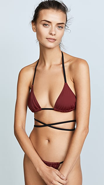 Solid & Striped Swim Team Hannah Bikini Top