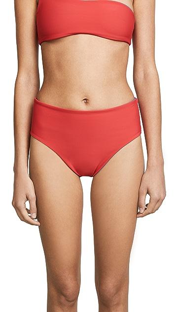Solid & Striped Reversible Swim Team Isabeli Bikini Bottoms