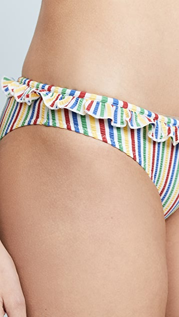 Solid & Striped Milly Seersucker Bottoms