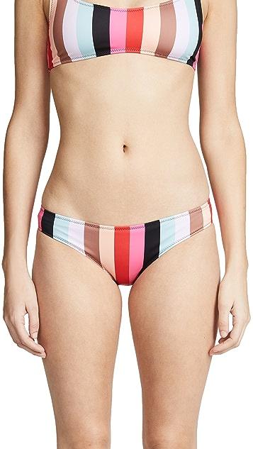 Solid & Striped Elle Stripe Bikini Bottoms