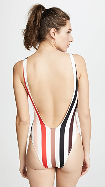 Solid & Striped Michelle Stripe One Piece