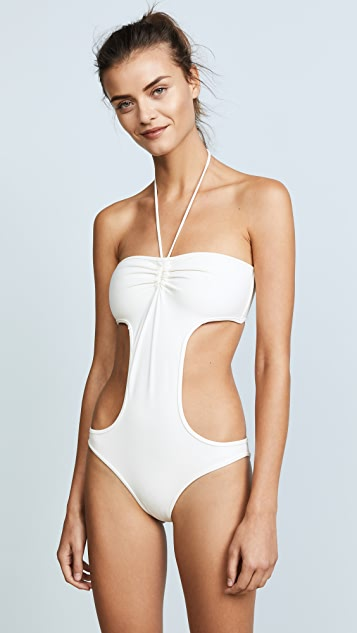 Solid & Striped Swim Team Carolyn One Piece
