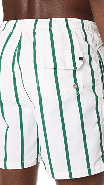 Solid & Striped The Classic Bondi Stripe Trunks