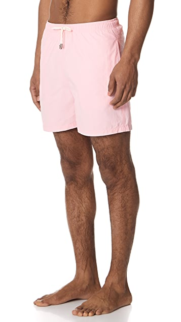 Solid & Striped The Classic Pink Trunks