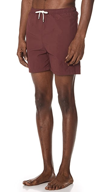 Solid & Striped The Classic Burgundy Trunks
