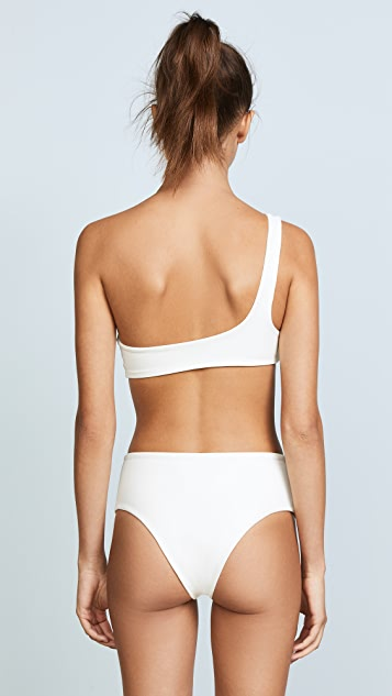 Solid & Striped Swim Team Isabeli Bikini Top