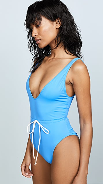 Solid & Striped Michelle Tie Swimsuit
