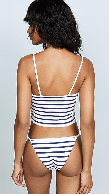 Solid & Striped Nicole Bikini Top