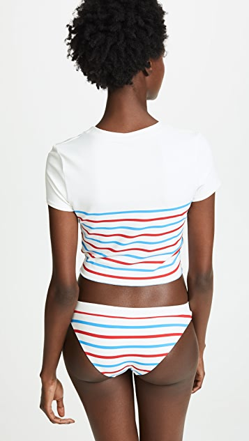 Solid & Striped Meghan Swim Top