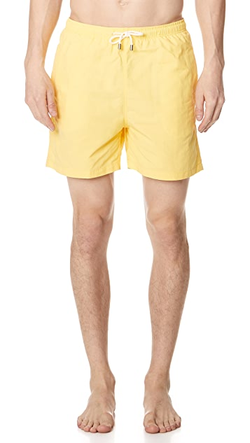 Solid & Striped The Classic Yellow Trunks