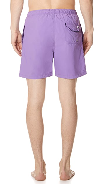 Solid & Striped The Classic Purple Trunks