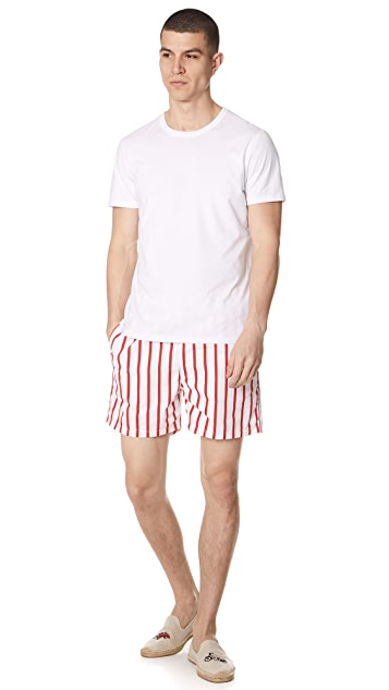 Solid & Striped The Classic Venice Striped Trunks