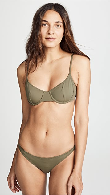 Solid & Striped The Eva Underwire Bikini Top