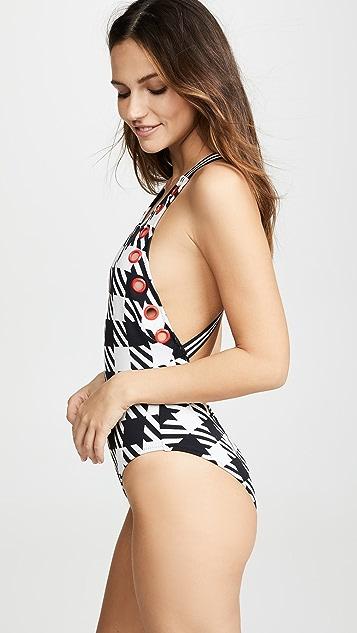 Solid & Striped Сплошной купальник Jackie