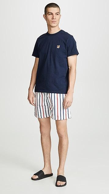 Solid & Striped The Classic Venice Stripe Swim Trunks