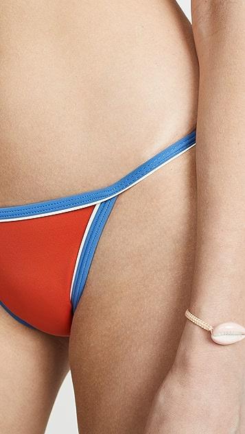 Solid & Striped Плавки бикини Nicole