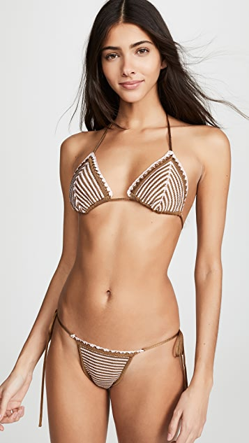 Solid & Striped Billy Bikini Top