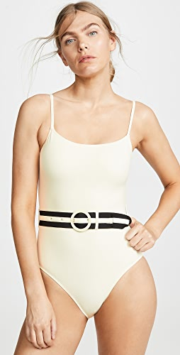 Solid & Striped - The Nina Belt One Piece Swimsuit