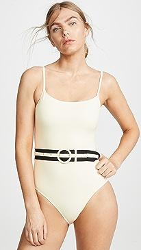 The Nina Belt One Piece Swimsuit