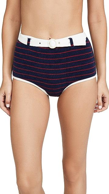 Solid & Striped The Nantucket Terry Bikini Bottoms