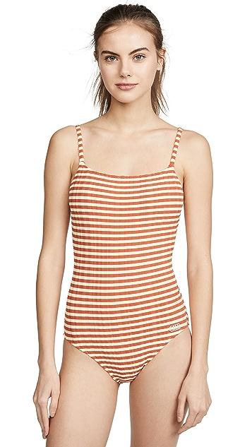 Solid & Striped Сплошной купальник Nina