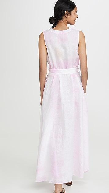 Solid & Striped 亚麻连衣裙