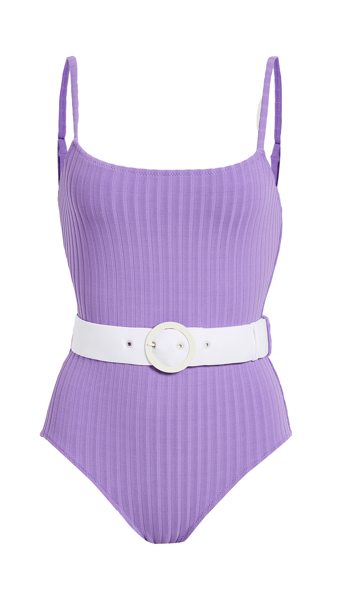 Solid & Striped The Nina Belted One Piece