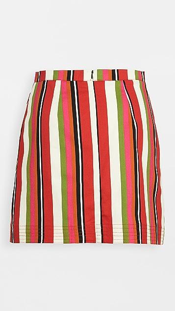 Solid &Striped The Savannah 半身裙