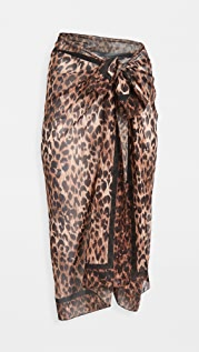 Solid & Striped 裹身式包布裙