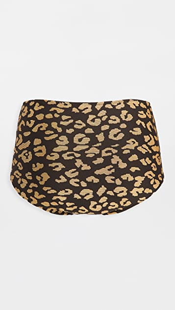 Solid & Striped The Gold Leopard Ginger Bottoms