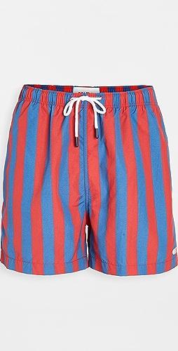 Solid & Striped - The Classic Striped Swim Trunks