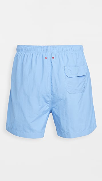 Solid & Striped The Classic Periwinkle Swim Trunks