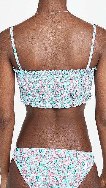 Solid & Striped The Indigo Bikini Top