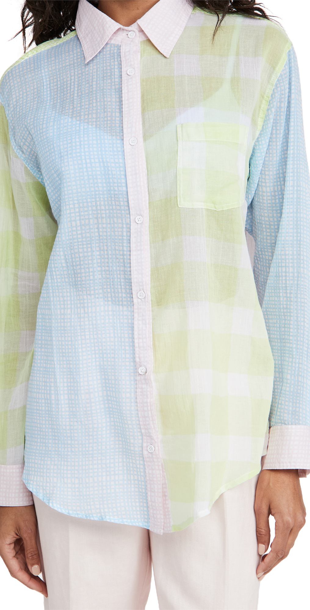Solid & Striped Cottons THE LONG OXFORD TUNIC