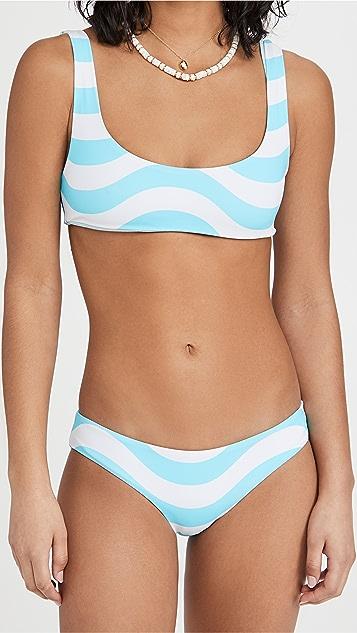 Solid & Striped The Elle 双面比基尼上衣